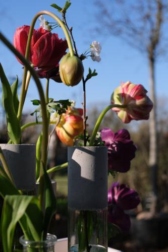 upcycling Vase von Filzstein.de