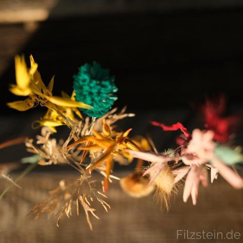 Filzstein - #Trockenblumencallenge2021
